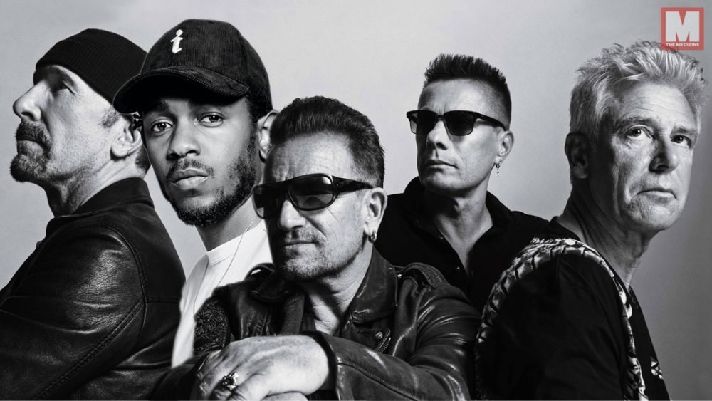 Kendrick Lamar se une a U2 para 'Get Out of Your Own Way'