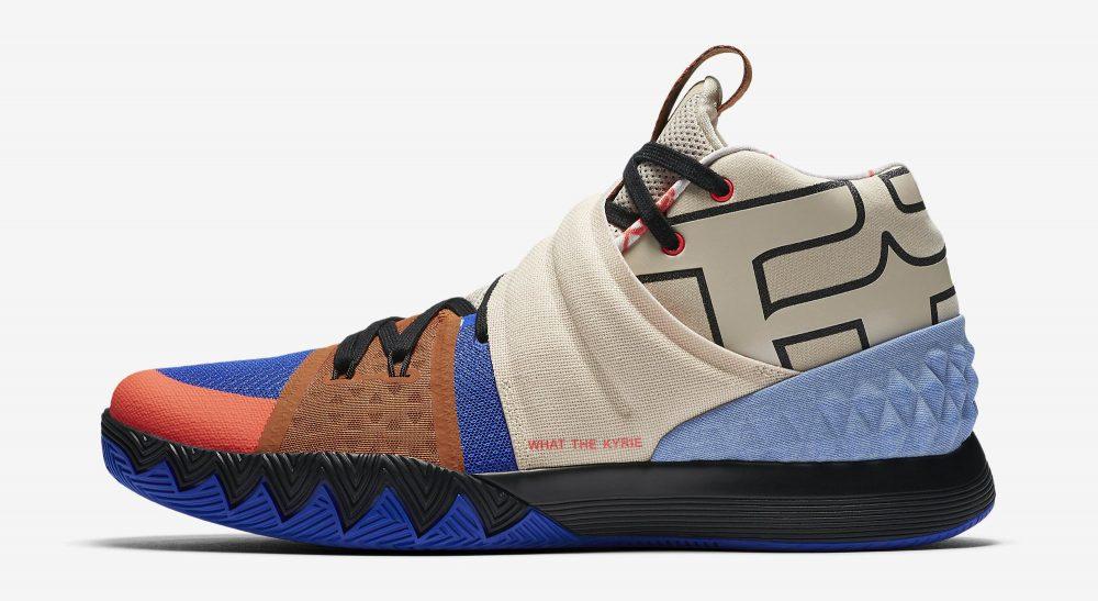 Llegan las nuevas y sorprendentes Nike x Kyrie 'what the Kyrie' S1HYBRID