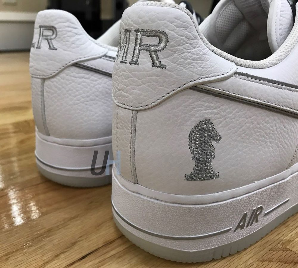 nike air force 1 low lebron james 4 horsemen right heel 1000x900 - Nike diseña un modelo exclusivo de las Air Force 1 para LeBron James