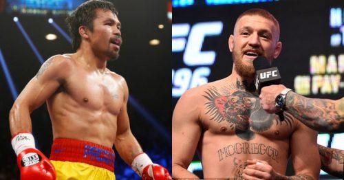 Pacquiao reta a McGregor a un combate de «boxeo real» en 2018