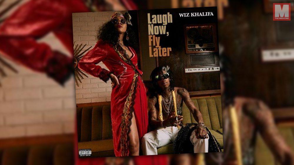Wiz Khalifa comparte su nueva mixtape 'Laugh Now, Fly Later'