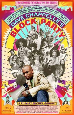 Dave Chappelles Block Party movie poster - 5 documentales sobre hip hop que deberías haber visto