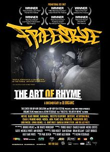 Freestyle The Art of Rhyme US release poster low res - 5 documentales sobre hip hop que deberías haber visto