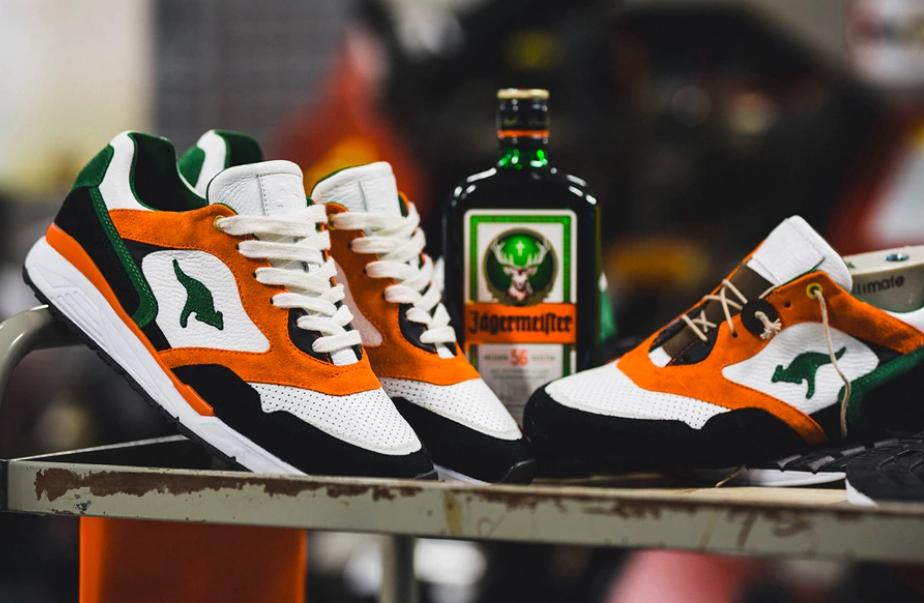 Jagger Zapatillas1 - De tu garito favorito a tus pies, Jägermeister crea sus primeras zapatillas.