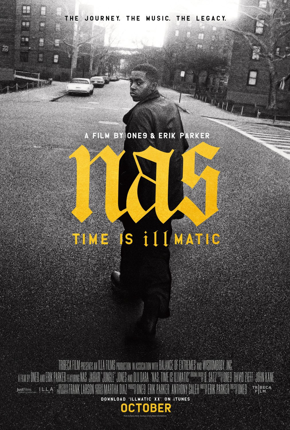 Nas Time Is Illmatic Poster - 5 documentales sobre hip hop que deberías haber visto