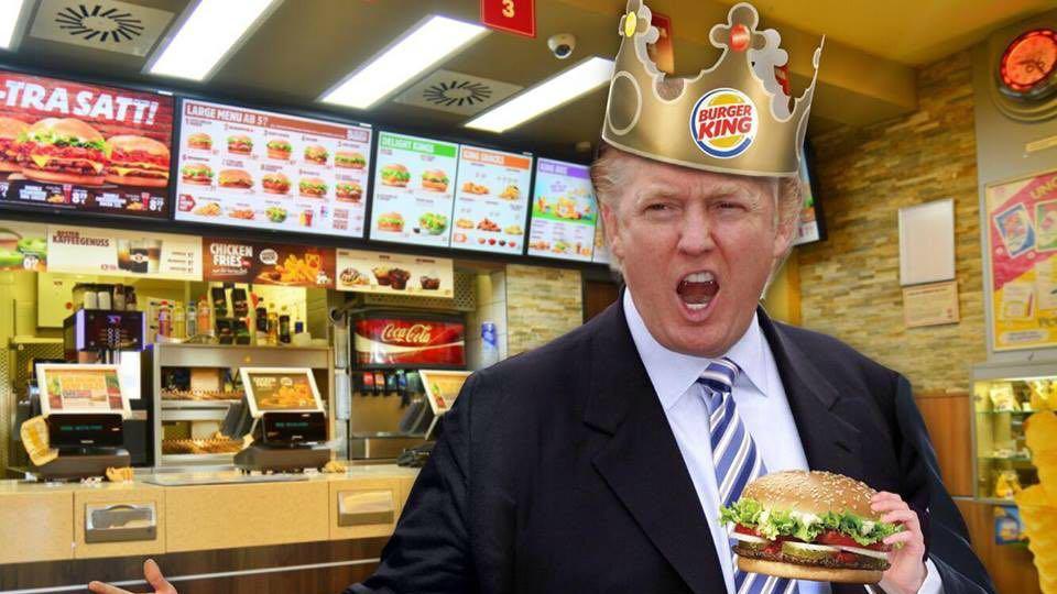 Se revela la sorprendente dieta de comida basura de Donald Trump