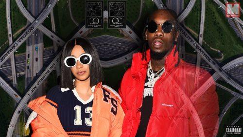 Offset y Cardi B forman un dúo de lujo en el single 'Um Yea'