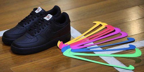 Precio e imágenes de las Nike Air Force 1 con swooshes intercambiables