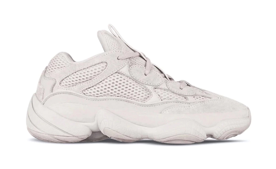 Lo último de Kanye x adidas son unas YEEZY Desert Rat 500 'Blush'