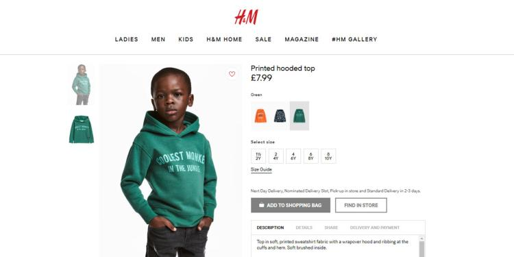 article h m2 0108 - The Weeknd y G-Eazy cancelan su unión con H&M por su anuncio racista