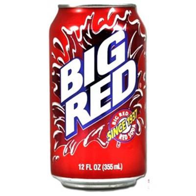 big red soda - 5 refrescos que deberías probar si viajas a Estados Unidos
