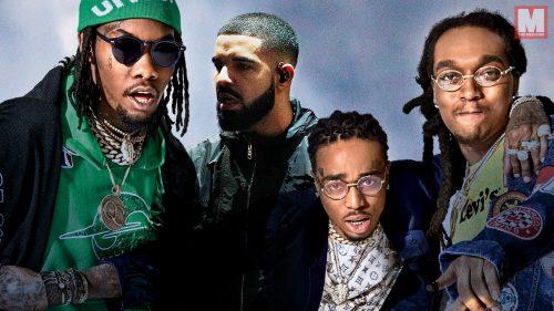 Drake y Migos combinan talento en su colaboración 'Walk It Talk It'
