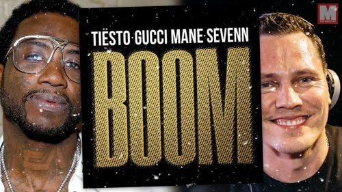 Gucci Mane se pasa al EDM junto a Tiësto y Sevenn con 'BOOM'