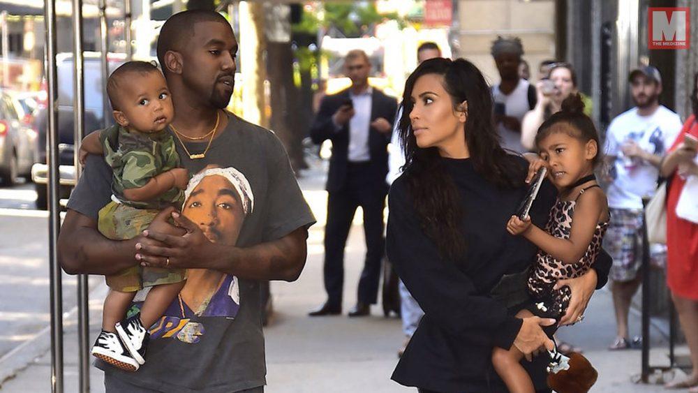 Kanye West y Kim Kardashian revelan el nombre de su tercera hija