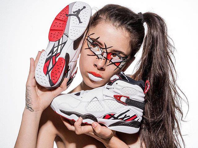 18812812 1892806150962203 6137721639959265280 n - La Bibitches: originalidad, descaro y maquillajes inspirados en sneakers