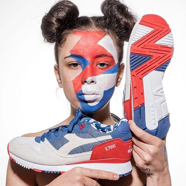 19050318 440897536276572 2447439293459726336 n - La Bibitches: originalidad, descaro y maquillajes inspirados en sneakers