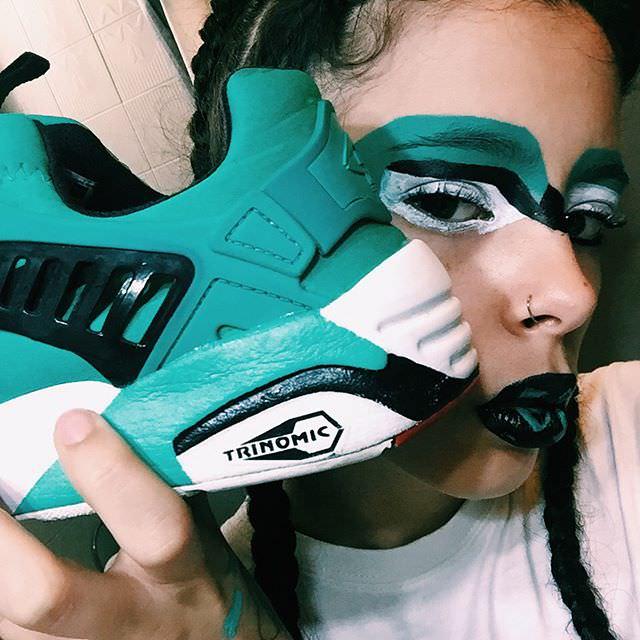 19120834 1827553784239647 8875498708288929792 n - La Bibitches: originalidad, descaro y maquillajes inspirados en sneakers