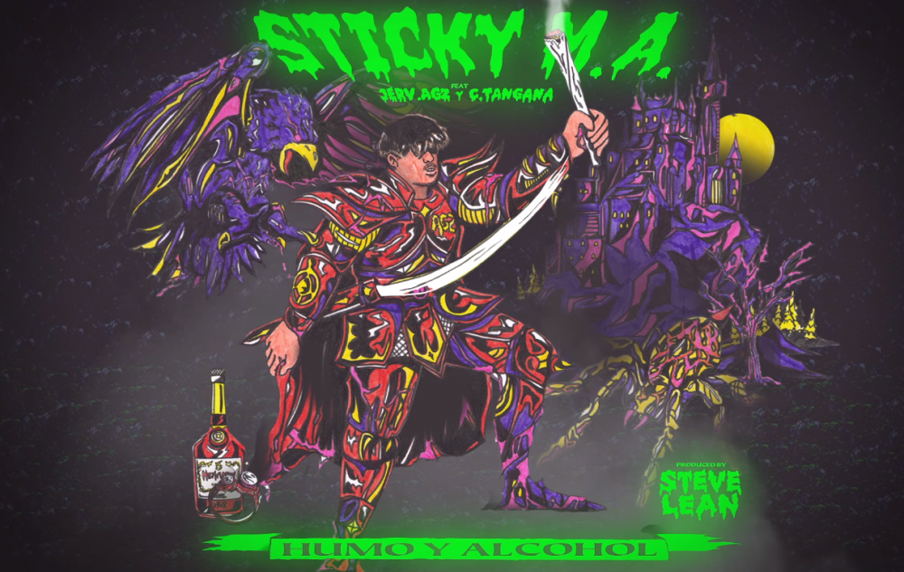 Sticky M.A. se une a C.Tangana y Jerv.agz para traerte 'Humo y Alcohol'