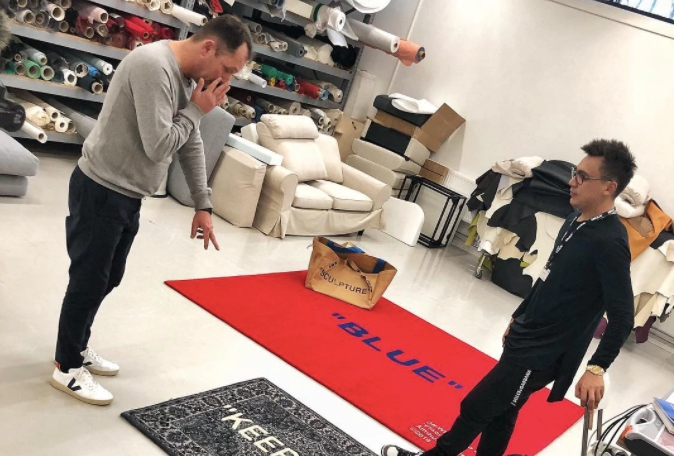 Dale un toque de estilo a tu casa con las alfombras de IKEA x Off-White
