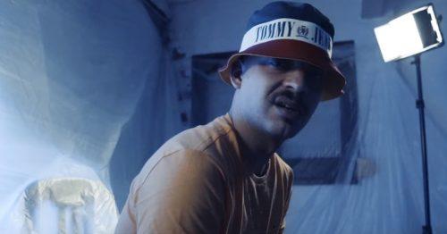 Juanih South se pone ante las cámaras para el videoclip de 'Only Hits'