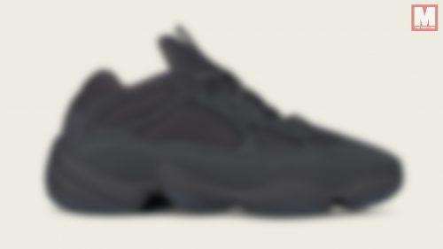 Las Yeezy Desert Rat 500 'Utility Black' saldrán a la venta este verano