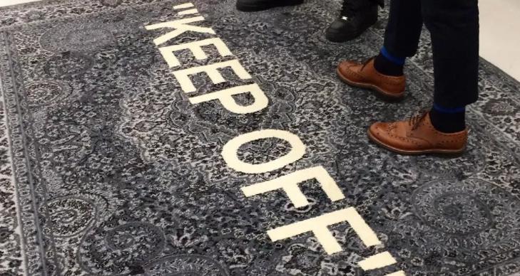 ikea3 - Dale un toque de estilo a tu casa con las alfombras de IKEA x Off-White