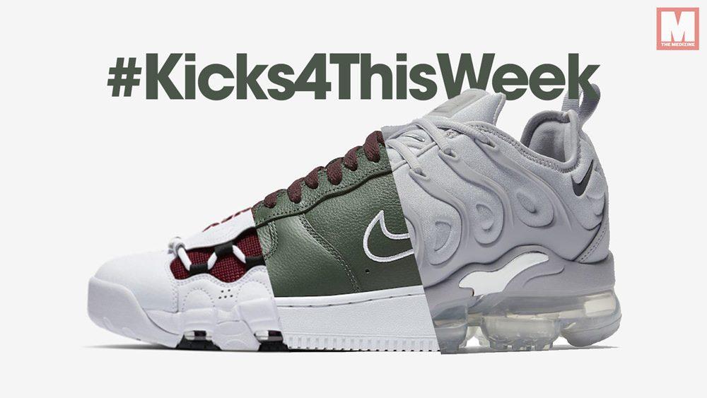 #Kicks4ThisWeek: los lanzamientos de sneakers que no puedes perderte (02/18)