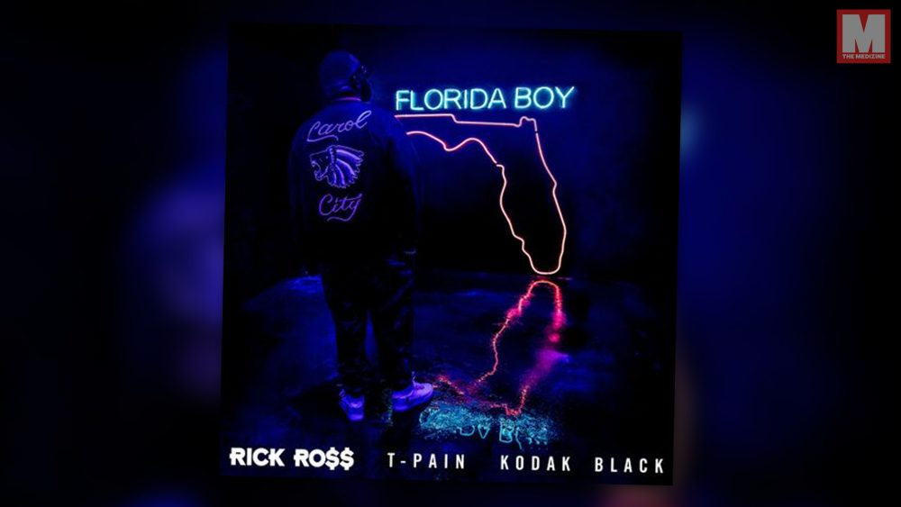 Rick Ross une a T-Pain y a Kodak Black para su nuevo single 'Florida Boy'