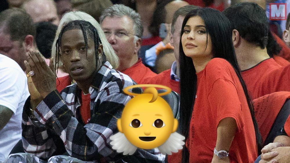 Kylie Jenner y Travis Scott dan la bienvenida al mundo a su bebé