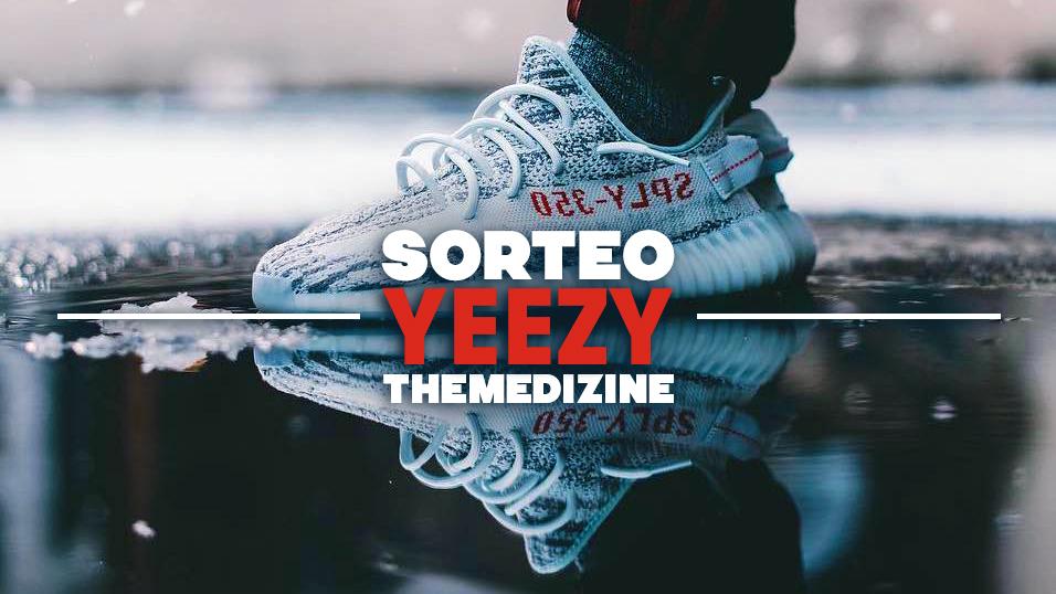 ¡Sorteamos unas adidas Yeezy Boost 350 V2 «Blue Tint»!