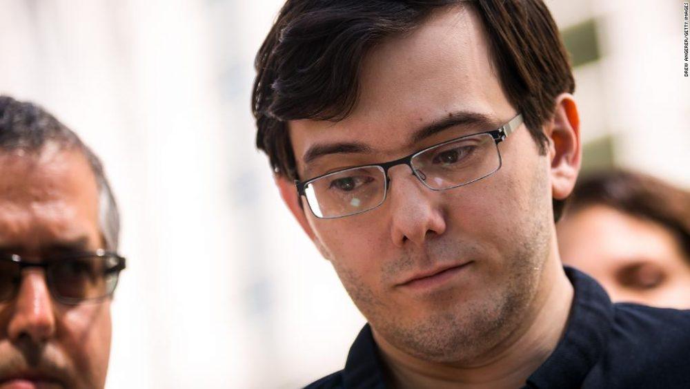 Martin Shkreli sentenciado a pasar 7 años en prisión