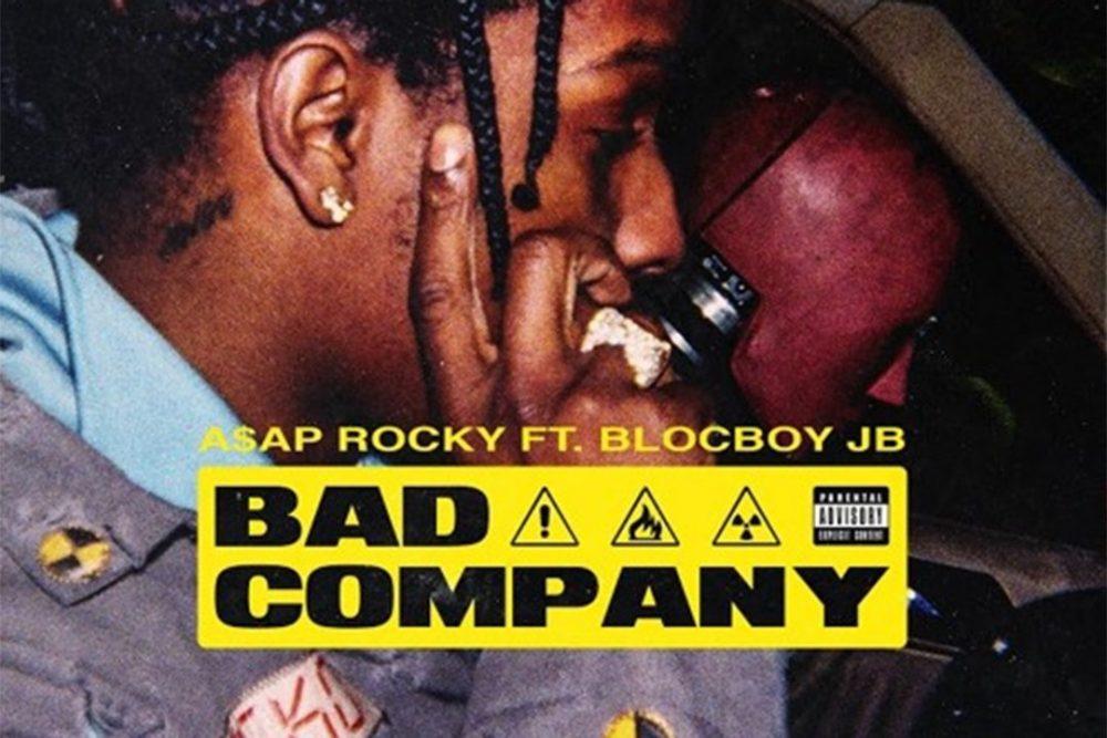 A$AP Rocky es la última 'Bad Company' de BlocBoy JB para su nuevo tema