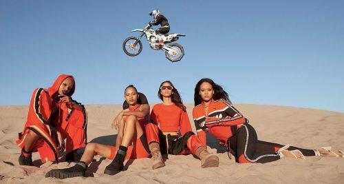 Unión entre dos mundos en la nueva colección de Fenty x Puma by Rihanna
