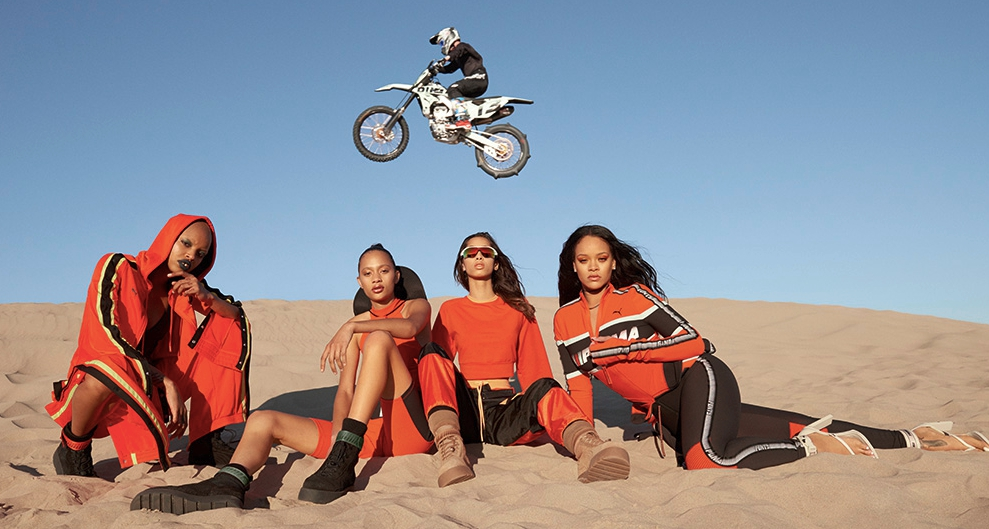 a 2 - Unión entre dos mundos en la nueva colección de Fenty x Puma by Rihanna