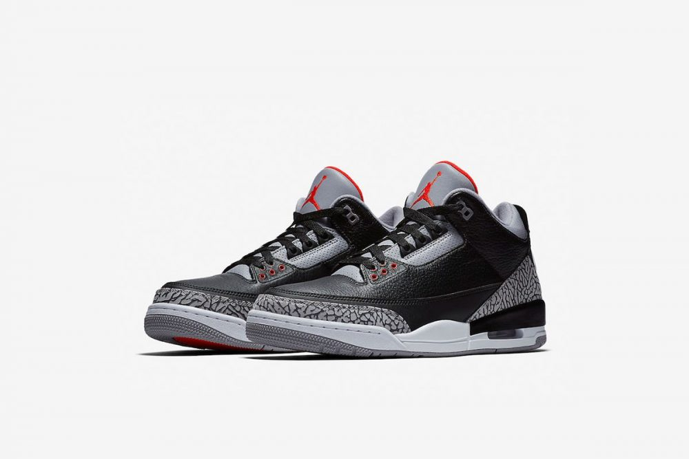 aj3 1 1000x667 - ¡Sorteamos unas Air Jordan 3 OG 'Black Cement'!