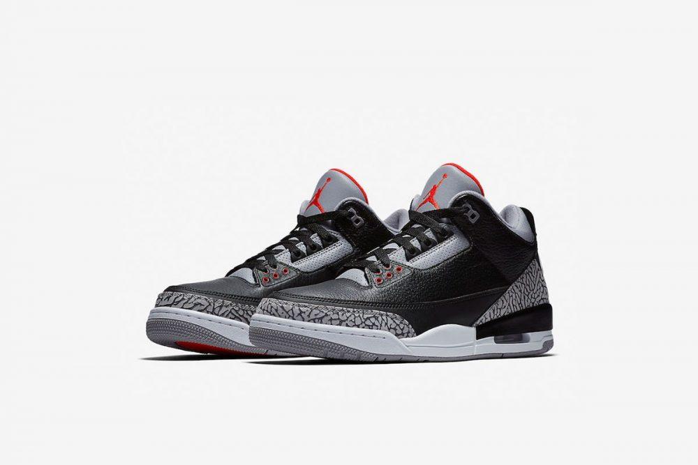 aj3 1 1000x667 - ¡Sorteamos unas Air Jordan 3 OG 'Black Cement'!