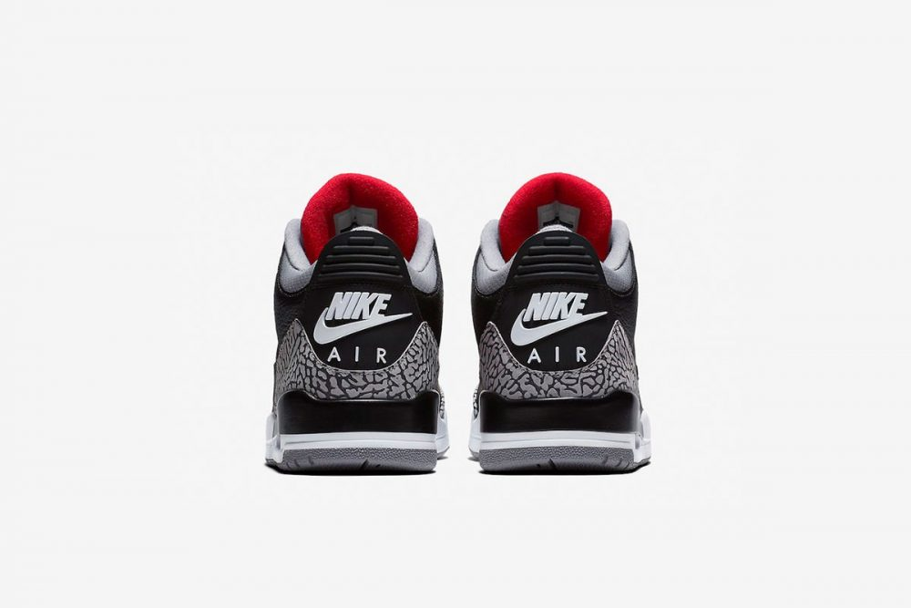 aj3 2 1000x667 - ¡Sorteamos unas Air Jordan 3 OG 'Black Cement'!
