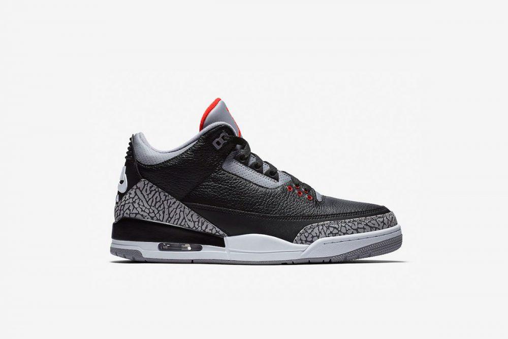 aj3 3 1000x667 - ¡Sorteamos unas Air Jordan 3 OG 'Black Cement'!