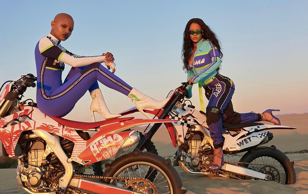 f 2 - Unión entre dos mundos en la nueva colección de Fenty x Puma by Rihanna