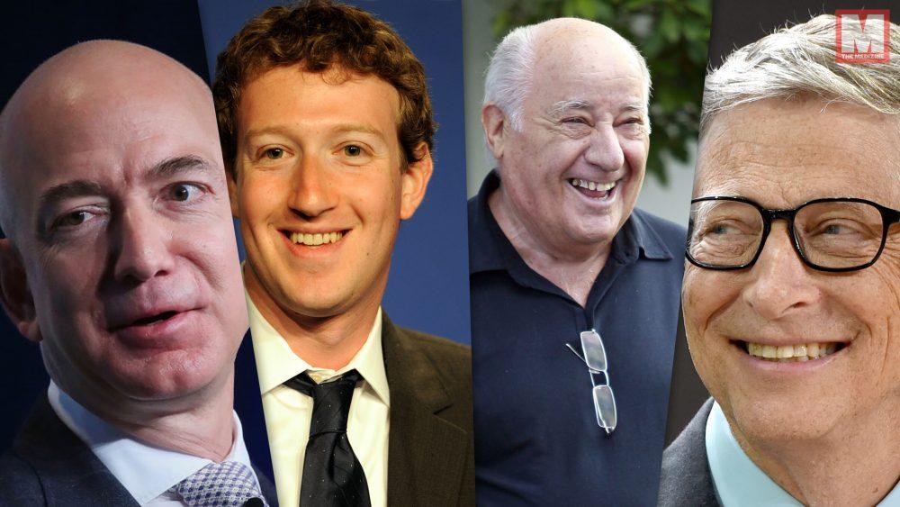 Estas son las personas más ricas del planeta según Forbes