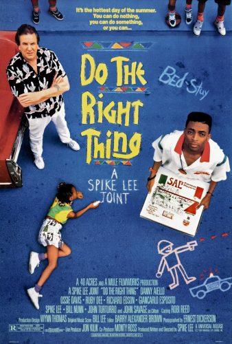 haz lo que debas 338x500 - Recopilamos las 6 mejores películas de Spike Lee