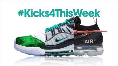 #Kicks4ThisWeek: Off-White, LeBron 15, Parley x adidas y más