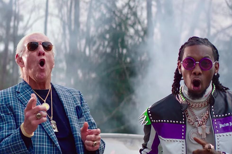 Ric Flair se une a 21 Savage, Offset y Metro Boomin en 'Ric Flair Drip'