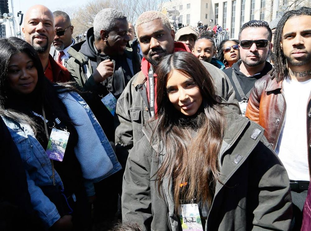 Kanye West, Vic Mensa y más se movilizan en 'March for Our Lives'