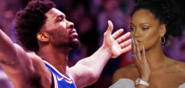 Joel Embiid le tira fichas a Rihanna tras despertarse de una cirugía