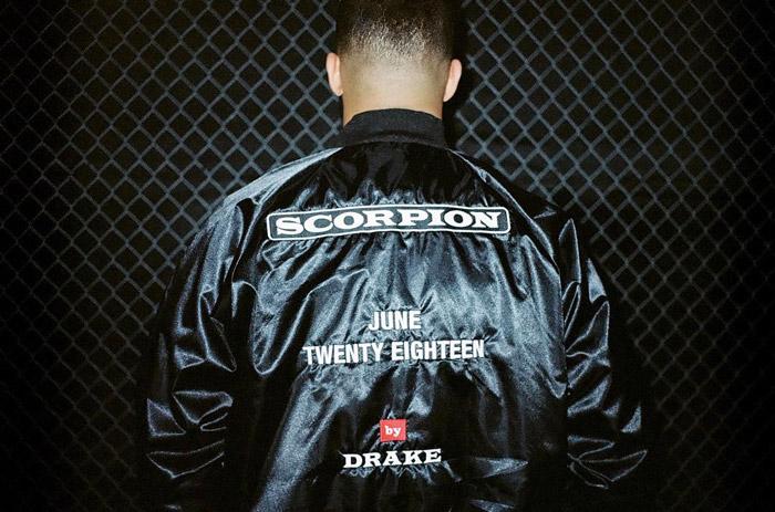 Drake anuncia su disco 'Scorpion' para junio de 2018