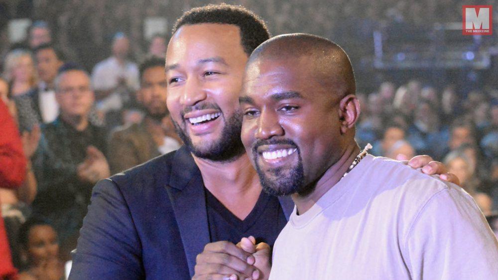 John Legend contacta con Kanye West tras sus tweets a favor de Trump