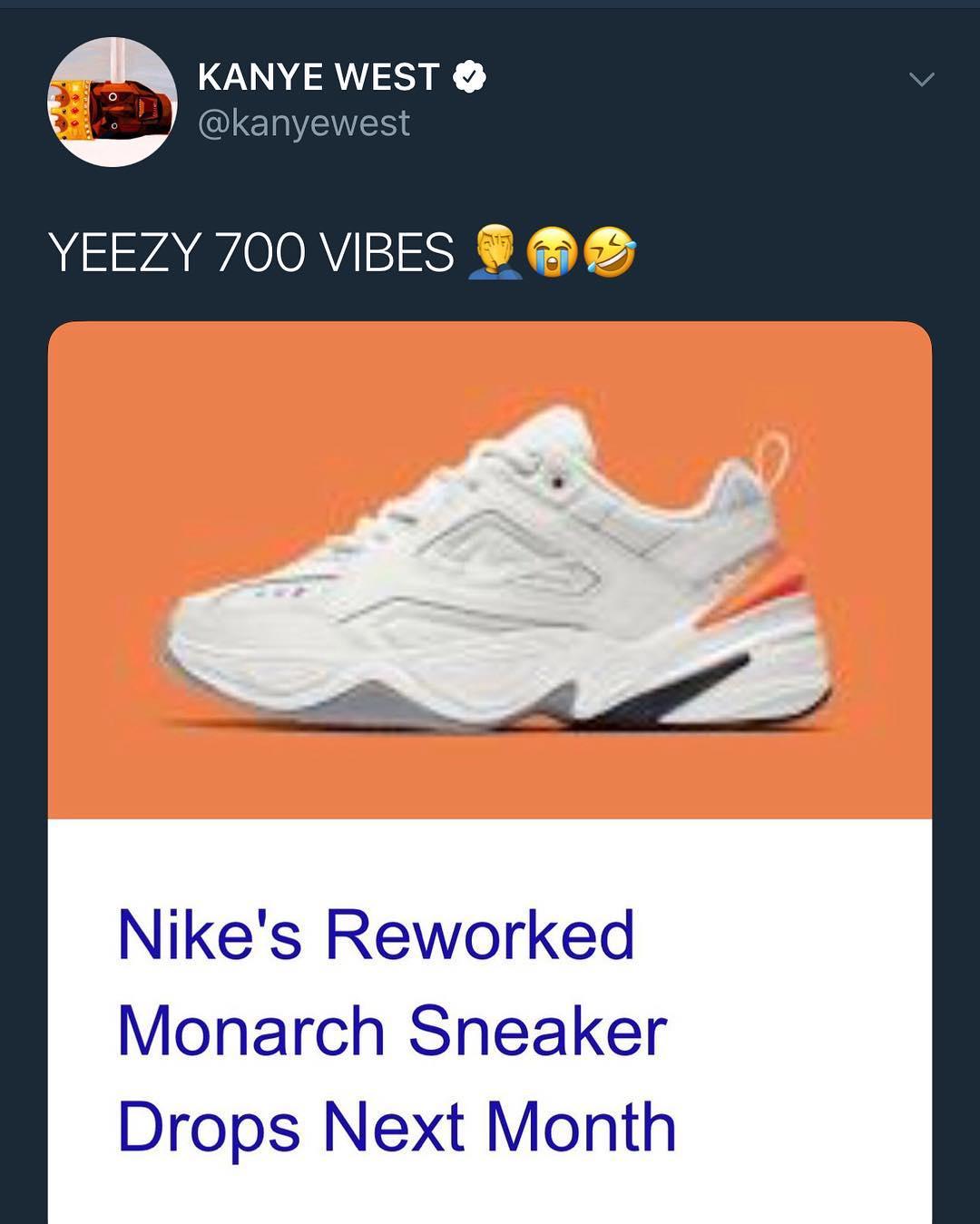 kanye west takes shot nike - Kanye West vuelve a Twitter riéndose directamente de Nike
