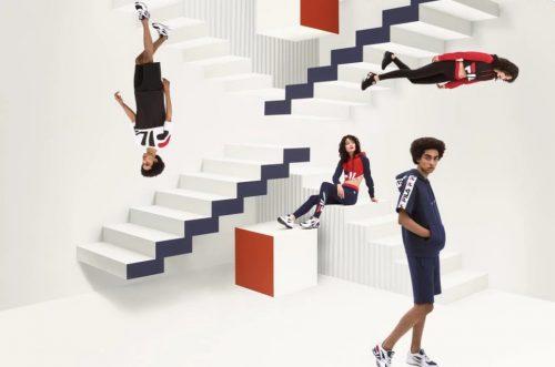 FILA se inspira en el modelo de sneakers «Mindblower» para su nueva línea de ropa