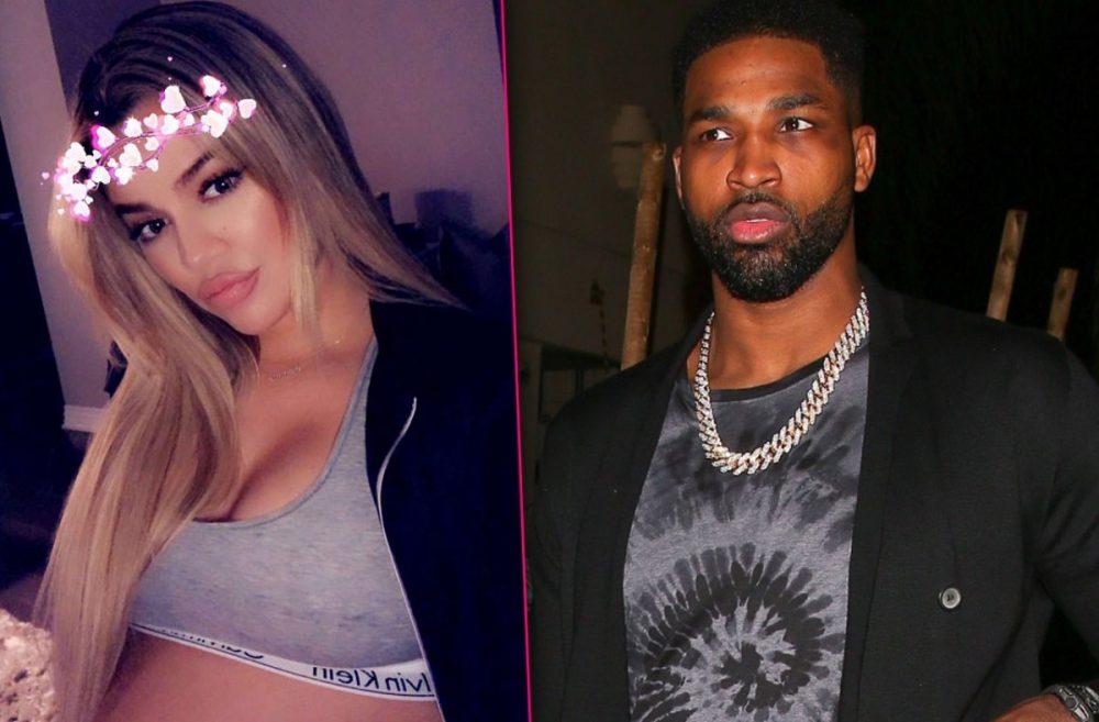 Tristan Thompson pillado engañando a Khloé Kardashian con dos mujeres